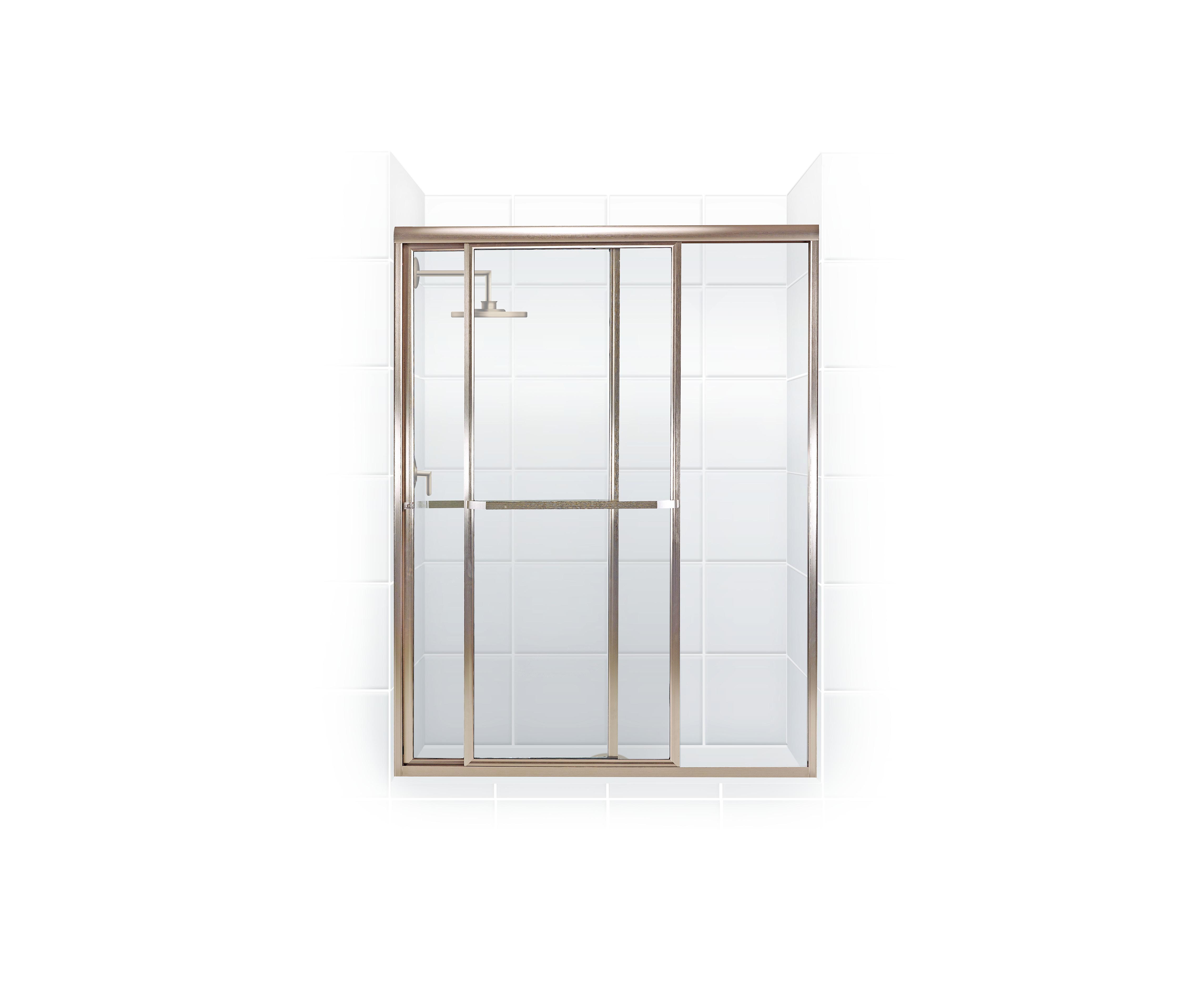 coastal industries paragon bypass shower door