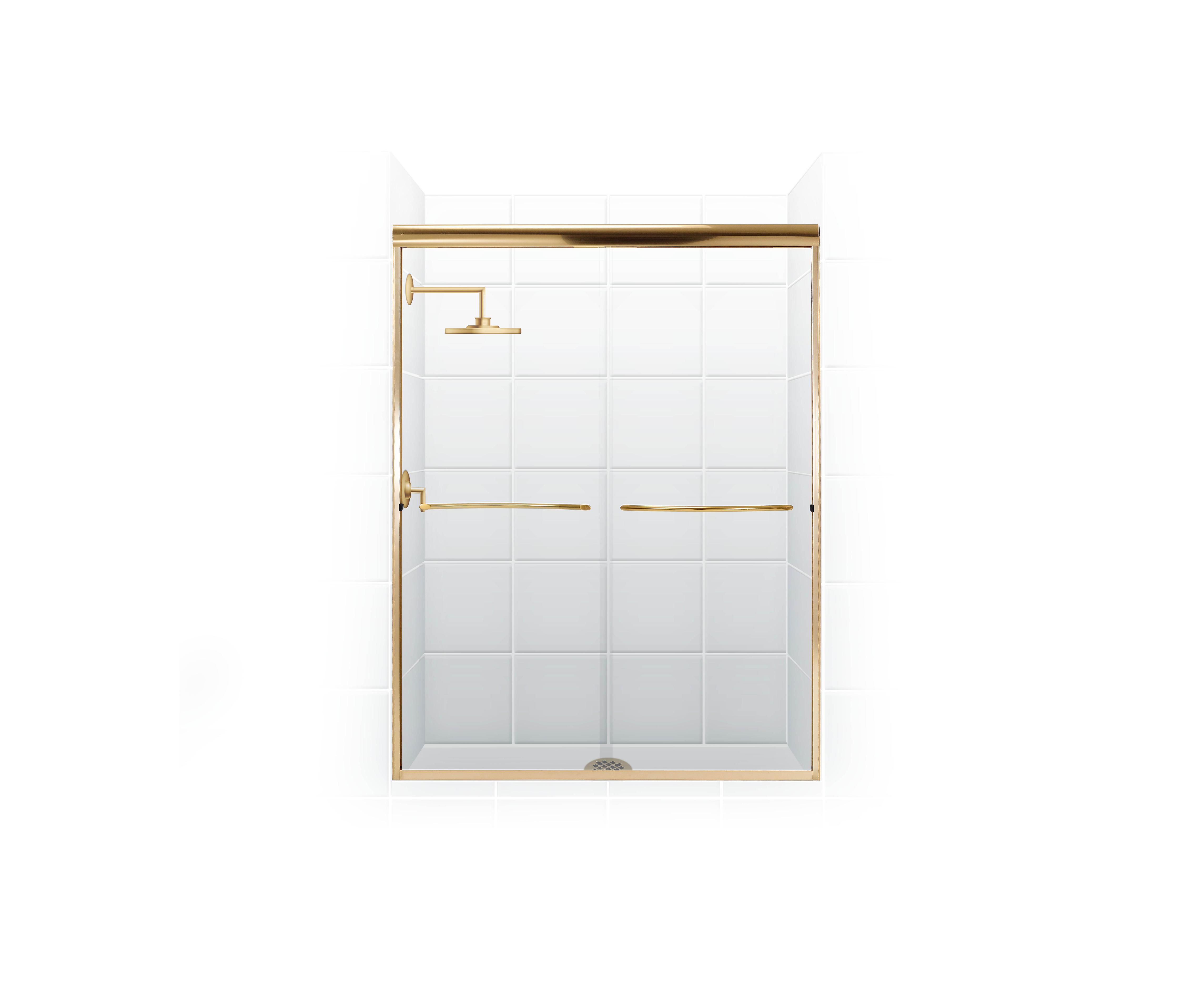 coastal industries paragon frameless bypass shower door